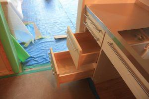 木製オーダーキッチン