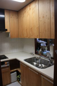 木製キッチン