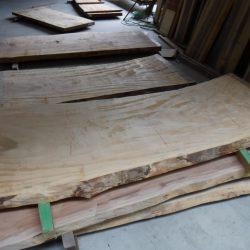栃の木一枚板t982