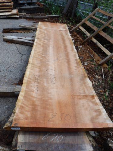 一枚板テーブル用アメリカンブラックチェリー