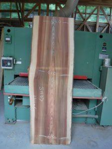 吉野杉一枚板s11370