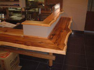 店舗用一枚板テーブル