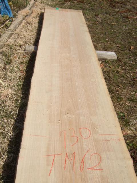 タモ一枚板TM62