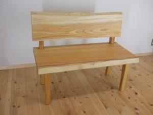 一枚板のベンチ