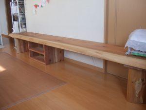 吉野杉テレビボード