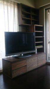 吉野杉TVボード