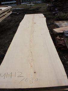 モミの木一枚板MM12