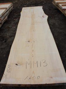 モミの木一枚板MM13