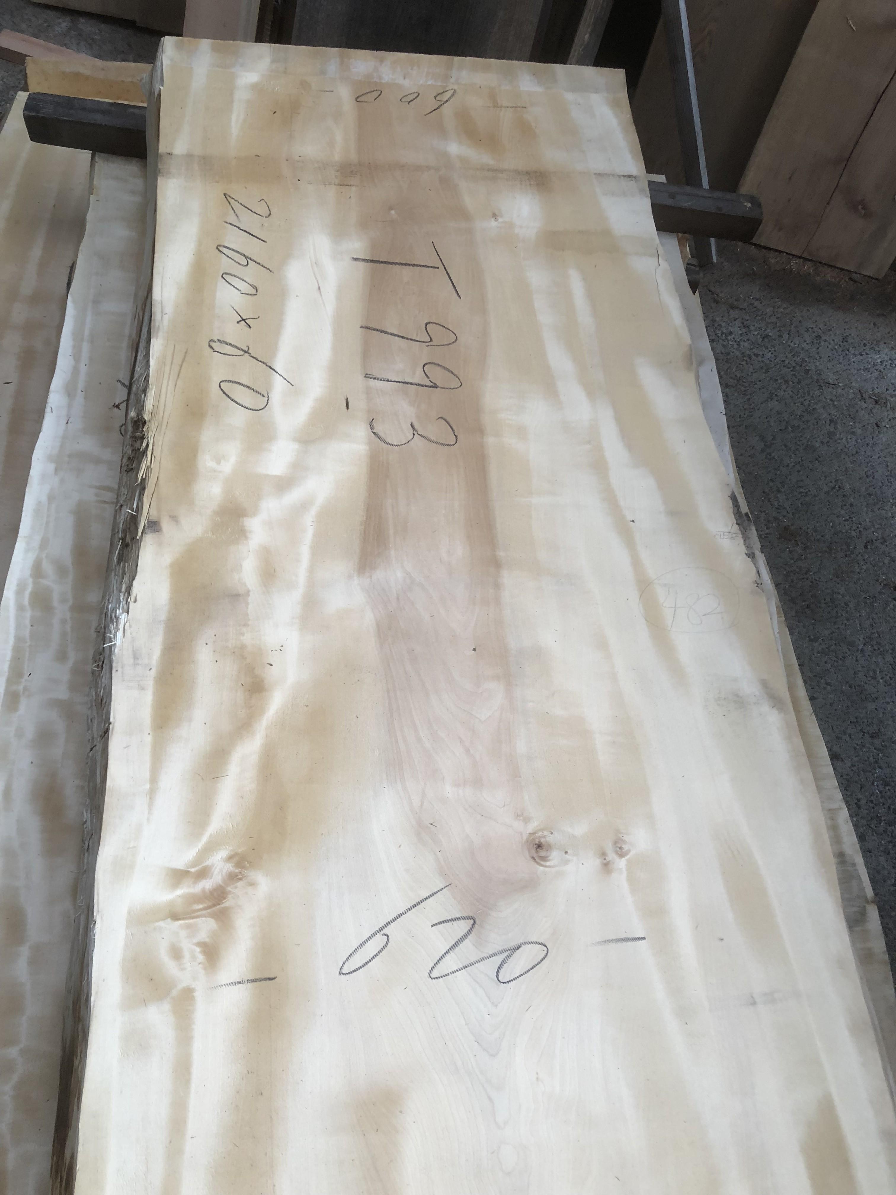 栃の木一枚板t993
