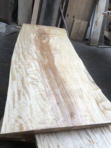 栃の木一枚板t991(吉野産)