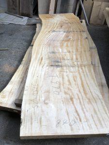 栃の木一枚板t990(吉野産)