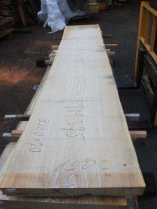 タモ一枚板TM575