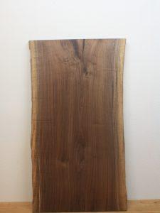 ブラックウォールナット一枚板BWs01