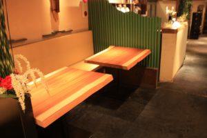 吉野杉一枚板テーブル