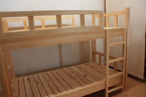 桧2段ベッド