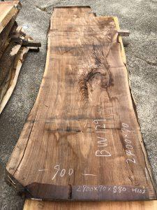 ウォールナット一枚板BW129