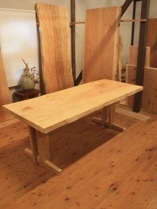 栃一枚板ダイニングテーブルts-03dt