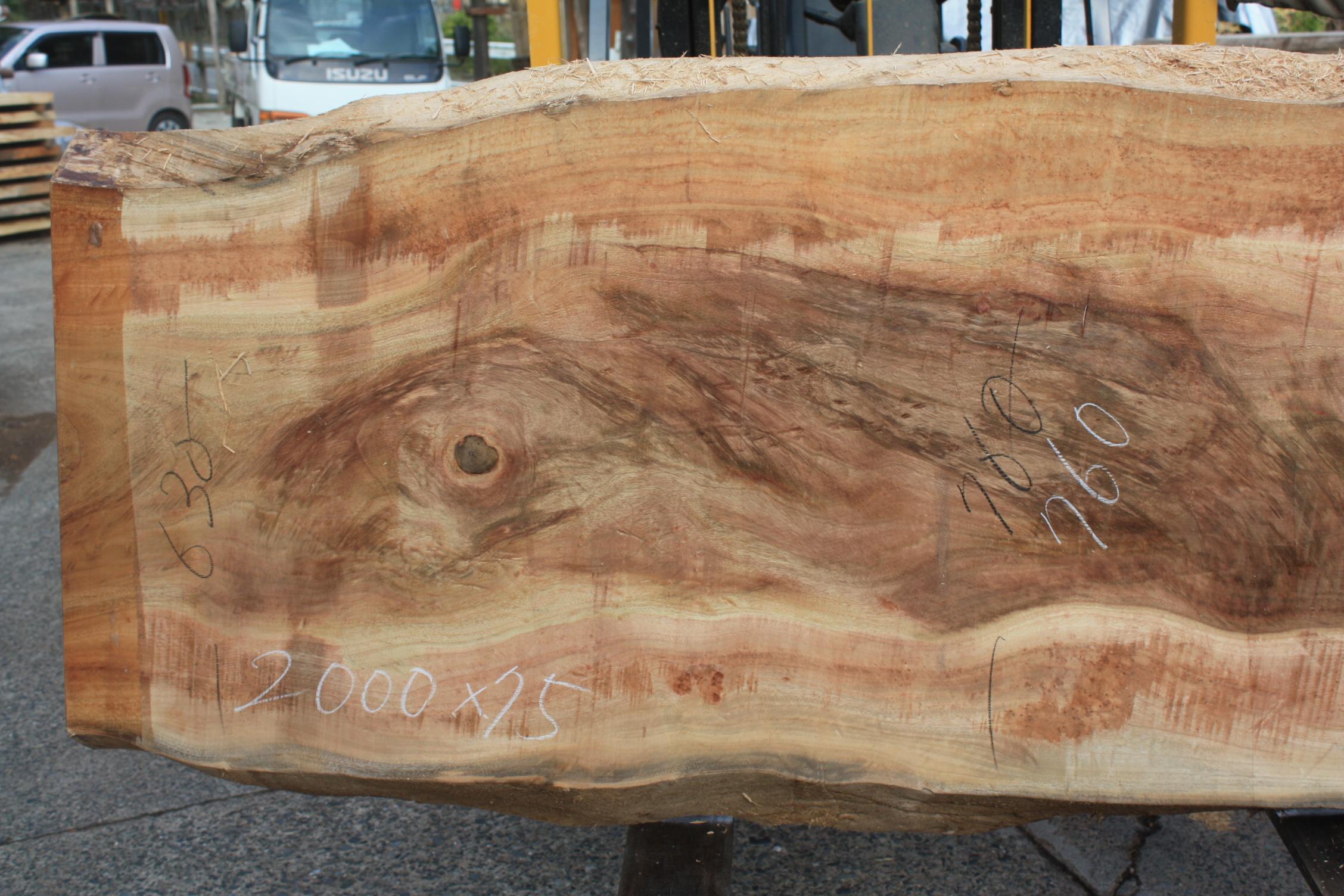 楠の木一枚板KS022