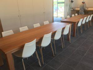 吉野杉無垢テーブル