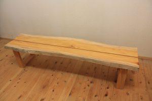 欅一枚板ベンチ
