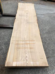 タモ一枚板TM761