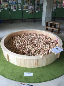 木の玉プール分割式