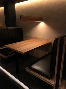 オーク店舗用テーブル