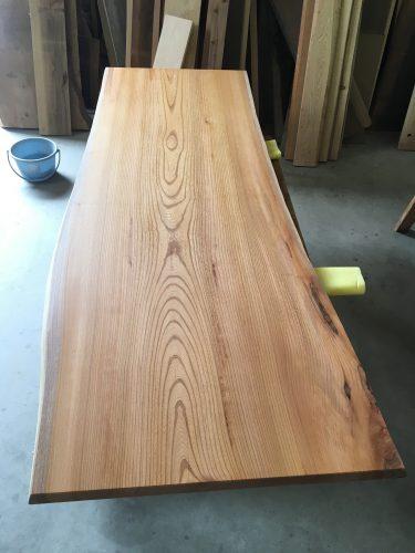 一枚板テーブル用欅