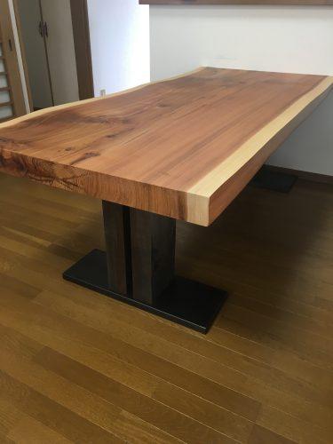 一枚板テーブル 吉野杉