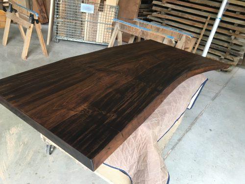 一枚板テーブル用栃