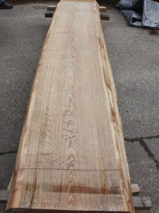 タモ一枚板TM498