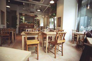 カフェ用テーブル